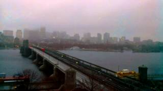 Sunset Time-Lapse Over Longfellow Bridge - Nov 26, 2014