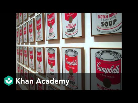 Why Is This Art Andy Warhol Campbell 39 S Soup Cans Video Khan Academy