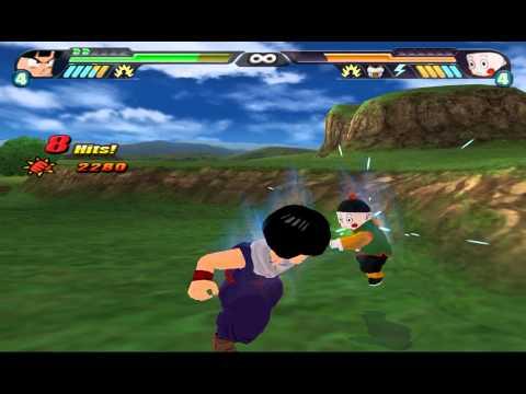 Kid Gohan vs Chiaotzu