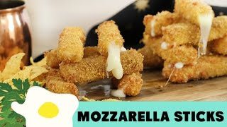 Camilan Lezat Fried Mozzarella Stick