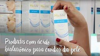 Produtos com ácido hialurônico para cuidar da pele