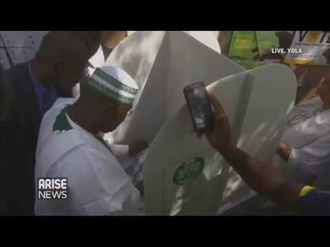 President Buhari, Atiku Abubakar, And Other Major Candidates Vote; Commend Peaceful Process
