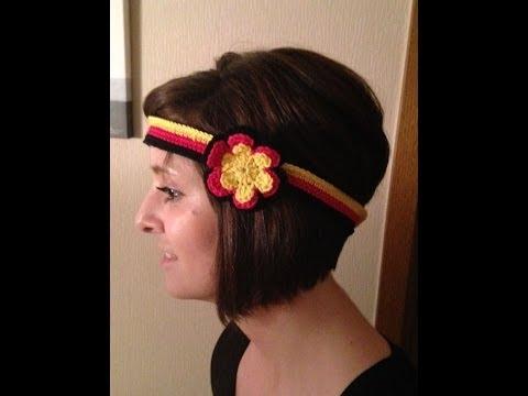 Häkeln – Weltmeisterschaft – Stirnband als Fanartikel – Deutschland