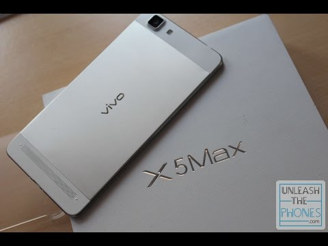 Vivo X5max Unboxing (and Overview of the slimmest phone in the world)