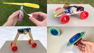 Video 4 incredible Things You Can Make at Home MP3, 3GP, MP4, WEBM, AVI, FLV Mei 2019