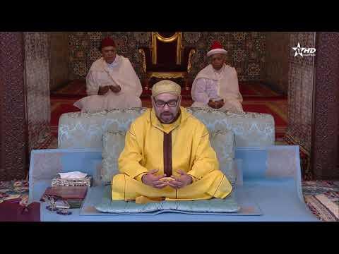 أمير المؤمنين يترأس الدرس السابع من الدروس الحسنية