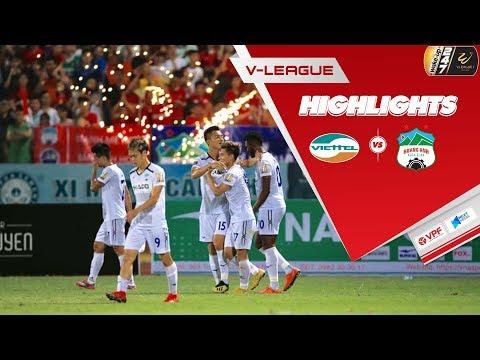 Văn Thanh trở lại ấn tượng, HAGL xuất sắc quật ngã Viettel ngay tại Hàng Đẫy | Vòng 9 V.League 2019 - Thời lượng: 8:02.