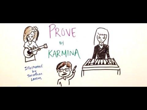 Tekst piosenki Karmina - Prove po polsku