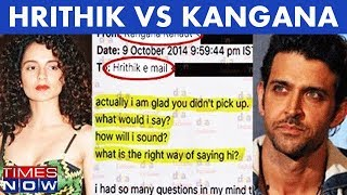 Video Hrithik Roshan Was Never Kangana Ranaut's Ex? Times NOW Accesses Never Seen Before  Emails MP3, 3GP, MP4, WEBM, AVI, FLV Oktober 2017