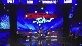 Australia's Got Talent - Greg Gould sings Purple Rain