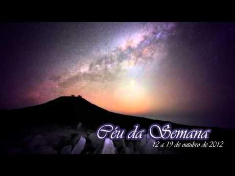 Céu da Semana - 12/10/2012 a 19/10/2012