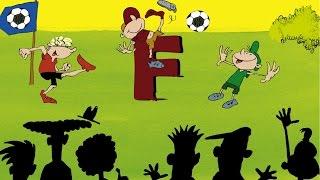 Fußball Lied - F Wie Fußball - Kinderlieder Sternschnuppe