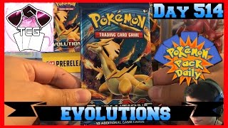 Pokemon Pack Daily Evolutions Booster Opening Day 514 - Featuring CuriousCleffa TCG by ThePokeCapital