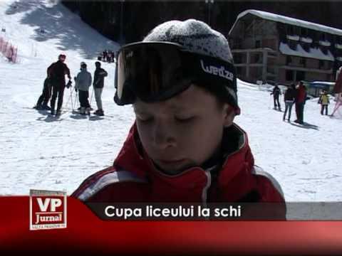 Cupa liceului la schi