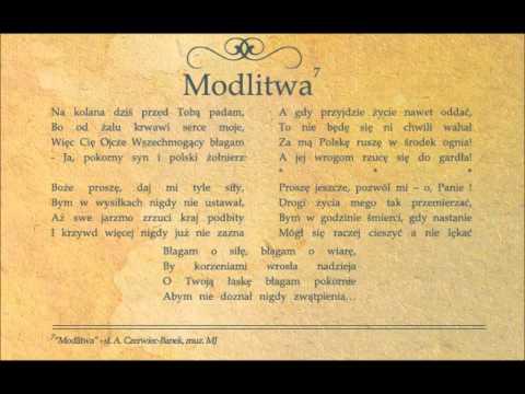 Tekst piosenki Forteca - Modlitwa po polsku