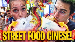 CINA #4 - ANIMA E LASABRI PROVANO LO STREET FOOD CINESE! *strano*