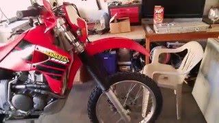 9. Honda Xr650r with XR's only Performance Exhaust system