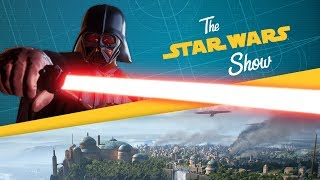 In this installment of The Star Wars Show, we reveal some new Star Wars Battlefront II details, talk with Eugene Byrd of LEGO Star Wars: The Freemaker Adventures, talk with the Lucasfilm receptionist who did the mo-cap for all your favorite movie villains, and more!Watch more of The Star Wars Show at https://www.youtube.com/playlist?list=PL148kCvXk8pBjG-JOhlIU6rWzLyA2O2anVisit Star Wars at http://www.starwars.comSubscribe to Star Wars on YouTube at http://www.youtube.com/starwarsLike Star Wars on Facebook at http://www.facebook.com/starwarsFollow Star Wars on Twitter at http://www.twitter.com/starwarsFollow Star Wars on Instagram at http://www.instagram.com/starwarsFollow Star Wars on Tumblr at http://starwars.tumblr.com/