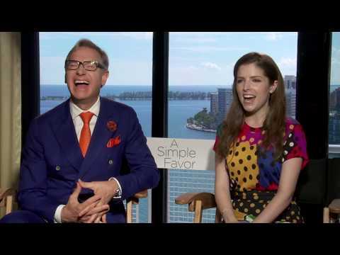 Entrevista a Paul Feig y Anna Kendrick  por su nueva película