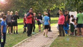 Mladí běžci brázdili městské sady