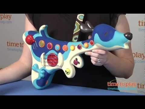 Музыкальная игрушка Battat ПЕС-ГИТАРИСТ (звук)
