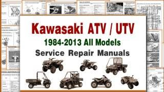 4. Kawasaki ATV Repair and Maintenance Manuals & Service Infomation