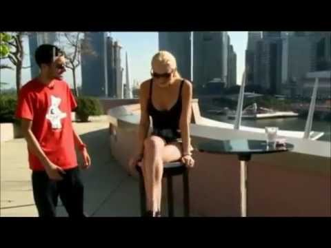 Dynamo amazing trick on Lindsay Lohan