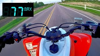 9. Yamaha Raptor 700 | Top Speed! (NEW)