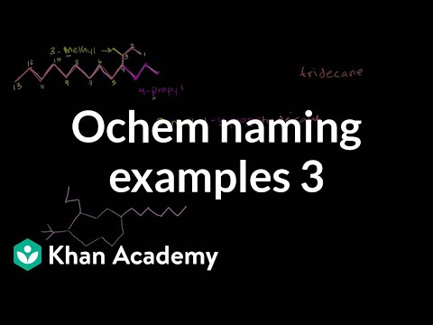 Example Organic Chemistry Organic Chemistry Naming