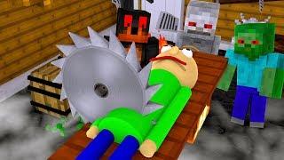 Monster School   Kill Baldi Challenge     Minecraft Animation