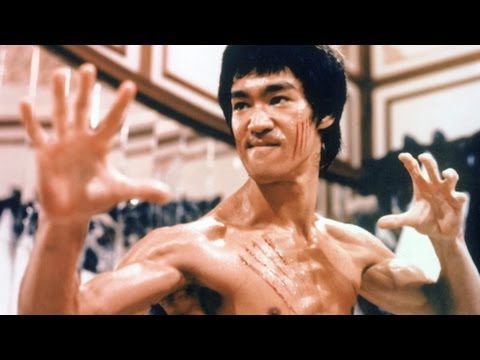 Top 10 Bruce Lee Moments (видео)