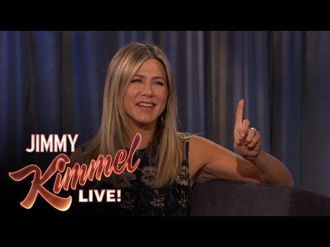 Jennifer Aniston on Jimmy Kimmel Hosting the Oscars