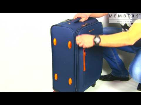 Відео огляд валізи Members Hi-Lite (M) Grey