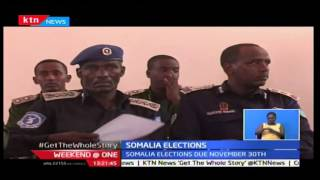 Weekend at One: Somalia Police force have been trained on how to handle elections, 22/10/16