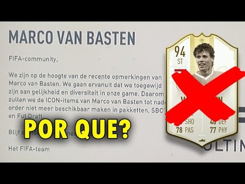FIFA 20 SUSPENDE todas las CARTA DE VAN BASTEN ¿PORQUE?  Removed from FIFA 20| is out of packs