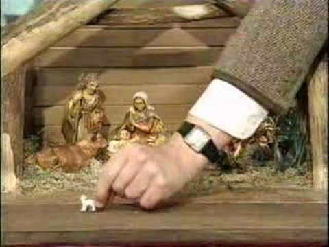 Funny Christmas Video - Mr bean playing wth some figures whilst christmas shopping.