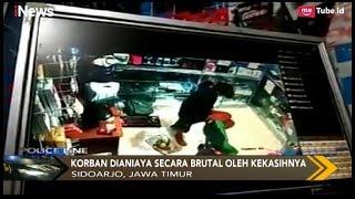 Video [Rekaman CCTV] Wanita Penjaga Konter HP Dianiaya Kekasihnya di Sidoarjo - Police Line 13/02 MP3, 3GP, MP4, WEBM, AVI, FLV Februari 2019