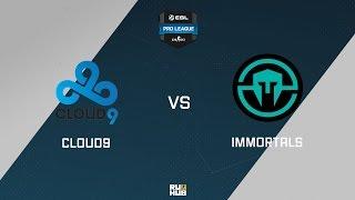 C9 vs Immortals, game 1
