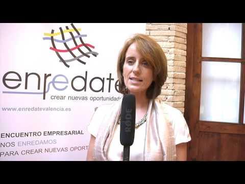 Entrevista a Esther Valero de Andana Comunicación en Enrédate Alzira