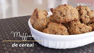 Prepara unos ricos muffins de all bran para disfrutar en el desayuno, son súper rápidos y nutritivos.