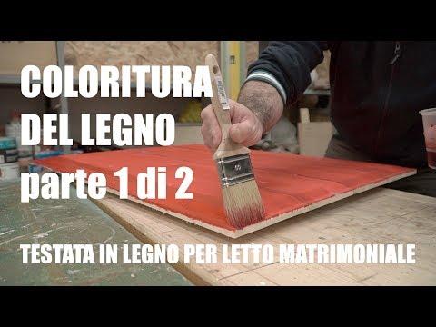 VERNICIARE IL LEGNO - COLORITURA - Lavorazione del legno - Falegnameria