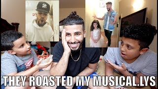 Yesterday's Vlog: https://youtu.be/np2Zzmy5yJ4Today is Hamzah and Jamals day! They got to roast me and my musical.lys! Hope you all enjoy it! Much LOVE :)Twitter: @omgAdamSalehFacebook: Adam SalehInstagram: @adamsalehSnapchat: adamsaleh93SUBSCRIBE for Daily Videos :) Thank you AdoomyGang !! xhttp://www.youtube.com/user/ASAVlogsMain Channel: http://www.youtube.com/TrueStoryASAAdam Saleh EVENT BOOKING:To book Adam Saleh to perform at your event or to tell us about an event in your area that you would like to see him perform at please email: info@AdamSalehworldwide.com