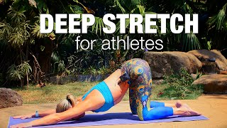 Deep Yoga Stretches for Athletes