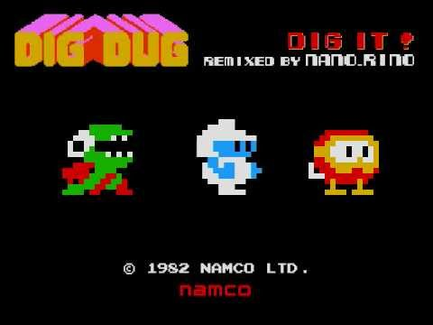 DIG IT !! (DIGDUG)  remixed by  nano_rino