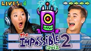 Video THE IMPOSSIBLE QUIZ 2 (REACT: Gaming) MP3, 3GP, MP4, WEBM, AVI, FLV Juli 2018
