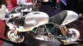 6. 2005 Ducati Paul Smart 1000 Limited Edition - Walkaround - 2015 Salon de la Moto Paris