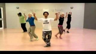 coreografia LMFAO   Party Rock Anthem style shuffle