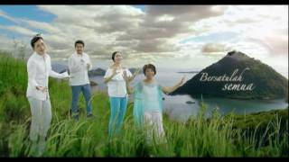Satu Indonesiku Oleh artis-Artis Indonesia | Medley Rayuan Pulau Kelapa Dan Kolam Susu