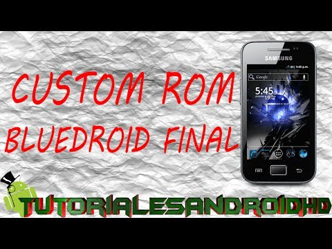Tutorial Bluedroid FINAL ROM 100% ESTABLE Estilo