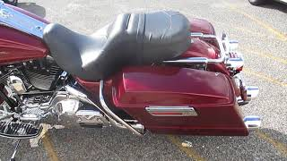8. U1952 2001 HARLEY-DAVIDSON FLHRI ROAD KING FOR SALE